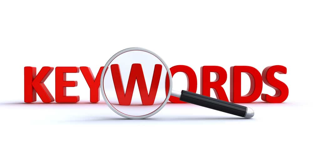 Intelligent use of keywords – not keyword stuffing